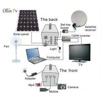 60W Residential Portable Solar Panel Charger , Solar Lighting System For Home Manufactures