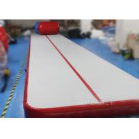 Safety Inflatable Air Tumble Track DWF / Drop Stitch Material For Gymnastics Manufactures