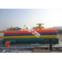 Attractive Huge Fun City Inflatable Amusment Park For Children / Kids Paradise Manufactures