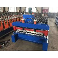 China PPGI Or PPGL Roofing Sheet Roll Forming Machine , Colourful Automatic Roll Forming Machine on sale
