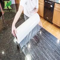 0.03-0.2mm Customized Adhesive Granite and Marble Protective Film Manufactures