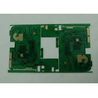 BGA Multilayer PCB Board with Stamp Holes / Vias , 6 Layer PWB Manufactures