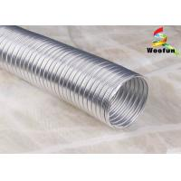 Ventilation Semi Rigid Flexible Ducting Aluminum For Clothes Dryers Manufactures