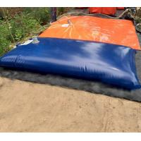 Quality Durable Corrosion Resistant PVC Flexible Blue Storage Water Bladder Tank For Liquid for sale