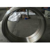 OD 10 X 1mm Cold Drawn Stainless Steel Coiled Tubing Round Shape High Strength Manufactures