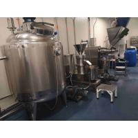 304 Stainless Steel Peanut Butter Processing Line High Output CE Certificate Manufactures