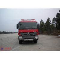 Mercedes Chassis Fire Fighting Vehicles Monitor Flow 100L/S Overturning Type Cab Manufactures