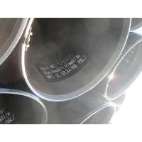 Q235 Carbon Steel LSAW Steel Pipe Sch 5 - Sch XXS Spiral Welded Steel Pipe Manufactures