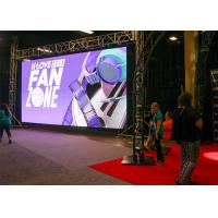 Quality P3.91 Outdoor Led Media Wall P4.81 500x500mm Size Anti - Corrosion for sale