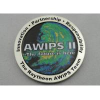 OEM & ODM AWIPS Coin / Zinc Alloy Awards Personalized Coins with Offset Printing, Imitation Cloisonne Enamel Manufactures