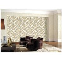 Soundproof 1.06 Meter Wallpaper For Walls Decor , Textured Damask Wallpaper Manufactures