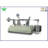 ISO 9863-1 Textile Testing Equipment / Geotextile Thickness Tester For Laboratory Manufactures