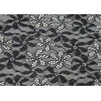 Shrink-Resistant Elastic Lace Fabric ,90% Nylon 10% Spandex Fabric CY-LW0795 Manufactures