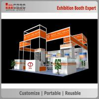 Incase Outstanding Trade Show Booth , Truss Trade Show Diplays With Glass counters Manufactures