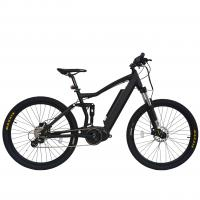 Voltage 36V Full Suspension Electric Mountain Bike 250W Mid Motor Speed Limit 25KM/H Manufactures