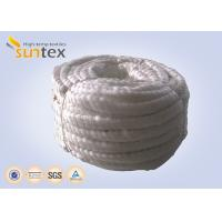 Quality 550C Heat Resistant Fiberglass Rope For Oven Door Seals Gasketing for sale