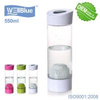 China Wellblue Alkaline Mineral Water Bottle For Improve Drinking Water's PH Value on sale