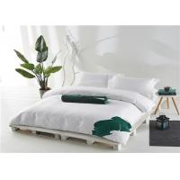 Hotel Bedding Set 100% Cotton Satin White And 400T Personalized Manufactures
