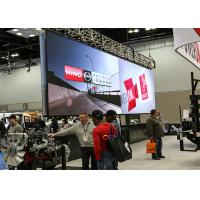 Small Pixel Pitch P2.5 LED Media Wall Display For Car Exhibition MBI ICs Manufactures