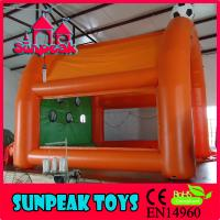 SP-1421 Kids Funny Inflatable Football Throwing Games Manufactures
