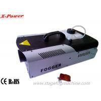 Quality 1500W LED Halloween Fog Machines With 8*3W 3 In1 RGB LEDs DMX512 Control X-024D for sale
