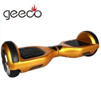 hot sell intelligent drifting 2 wheel self balance motor wheel electric scooter from Geeco Manufactures