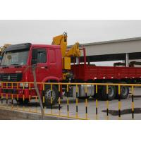 China Durable 11meters Truck Mounted Crane 6.3T Used  for Lifting Construction Materials on sale