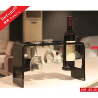Quality Wine Glass Holder Home Acrylic Display Stands Clear 280*155*170mm for sale