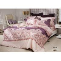 Luxury Comfort Italy Style Sateen Bedding Sets ,  Pima Cotton Flat Sheet Sets Manufactures