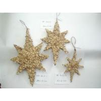 Christmas tree pendant ornament handmade star decoration  hanger ornaments christmas ornaments personalized Manufactures