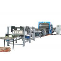 Strengthen Sheet Cement Kraft  Paper Bags Full Automatic Making Machine With  Air Cylinder Manufactures