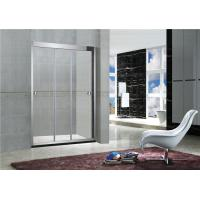China Three Sliding 8 MM Glass Shower Screens Without Magnetic Seals Stainless Accessories on sale