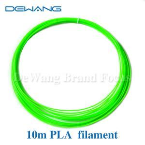 1.75mm PLA 3D Printer Filament , 3d printing plastic filament for Markerbot , Cubify Manufactures