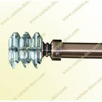 Decorative Curtain Rod with Crystal Finial Manufactures