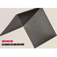 High Tensile Stainless Steel Wire Mesh For Security Screen Product Manufactures