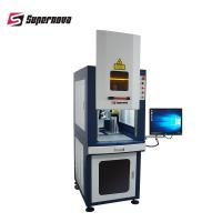 Buy cheap 7000mm/s Letters Fiber Laser Marking System , Metal Laser Engraving Machine 30W from wholesalers