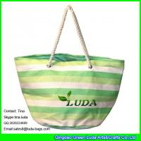 China LUDA latest designer handbags oversized paper straw tote bag on sale