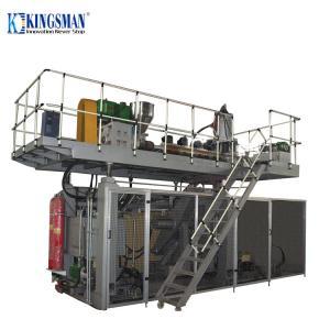 380V - 440V Accumulator Blow Moulding Machine , Plastic Drum Blow Molding Machine Manufactures
