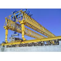 Double Truss Type Bridge Erection Machine High Security With Hydraulic System Manufactures