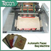 Energy Conservation Multiwall Valve Paper Bag Making Machine / Equipment Manufactures