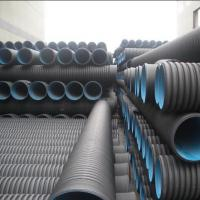 High quality and cheap DN110mm black HDPE Corrugated water Pipe Manufactures