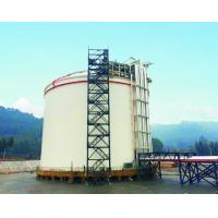 Stainless Steel Cryogenic LNG Storage Tanks 30000m3 For Beverage / Liquid Manufactures