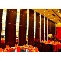 Large Size Movable Sound Proof Walls Plywood Finish High Performance Manufactures