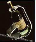 China Single Acrylic Plastic Wine Holder on sale