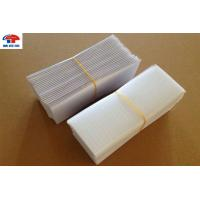 Stickly Magic Self Adhesive Hook And Loop Tape , White Nylon Hook And Loop Square Shape Manufactures