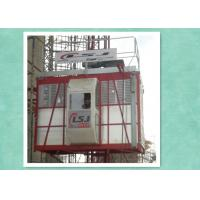 Construction hoist 33m/min Speed Single cabin 2000kg capacity Manufactures