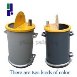 Large Capacity Gema Powder Coating Gun Parts Gema Fluidization Barrels Manufactures