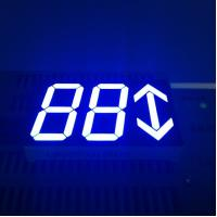 Ultra Bright Blue 0.80 Inch Arrow Led Display 3 Digit For Set - Top Boxes Manufactures