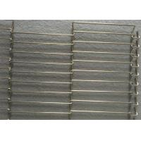 304 Stainless Steel Wire Mesh Conveyor Belt For Ultrasonic Cleaning Conveyor Manufactures