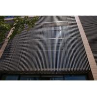 UV Resistant Waterproof WPC Wall Cladding Panel For Room Roof / Garden Draining Manufactures